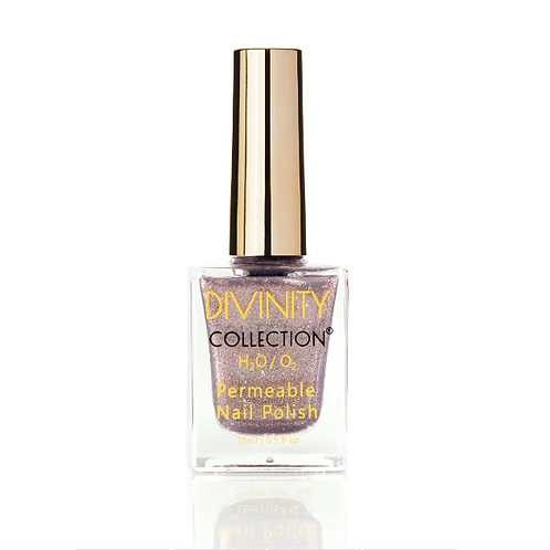 SILVER SPARKLE - DIVINITY COLLECTION PERMEABLE HALAL NAIL POLISH