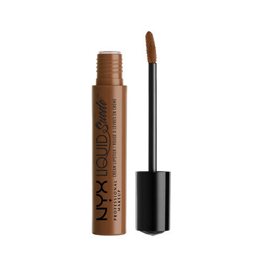 NYX Liquid Suede Cream Lipstick 22 Downtown Beauty