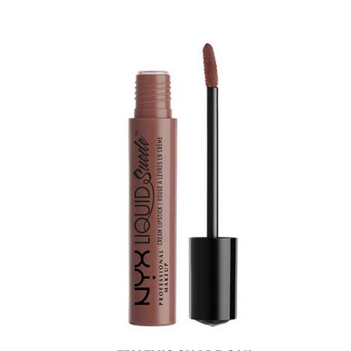 NYX Liquid Suede Cream Lipstick 21 Brooklyn Thorn