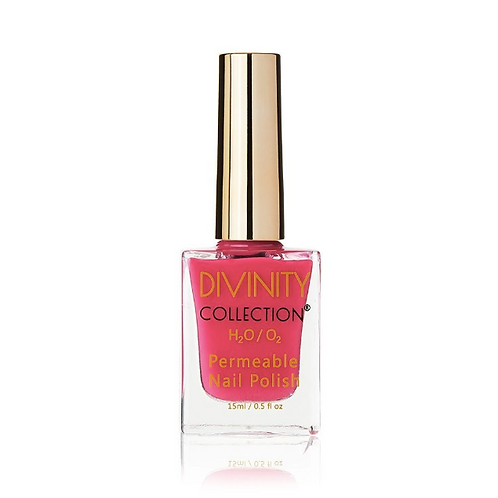 CANDY PINK - DIVINITY COLLECTION PERMEABLE HALAL NAIL POLISH