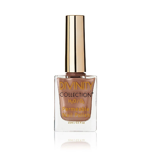 BRONZE - DIVINITY COLLECTION PERMEABLE HALAL NAIL POLISH