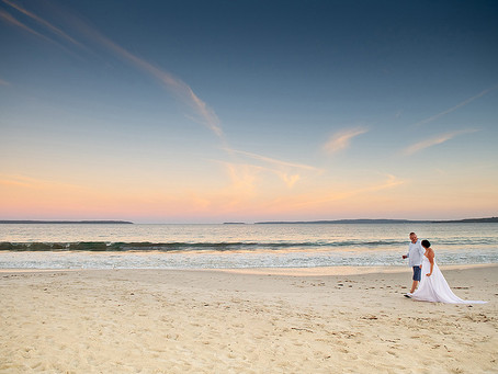 A waterfront holiday house at Jervis Bay  - the perfect weekend away & a great place to elope!