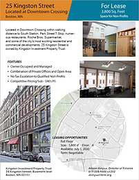 For Lease - 3,800 sq. ft. Space for Non-Profits