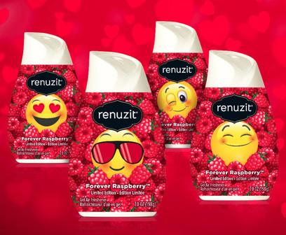 Renuzit Emoji Valentine's Cones