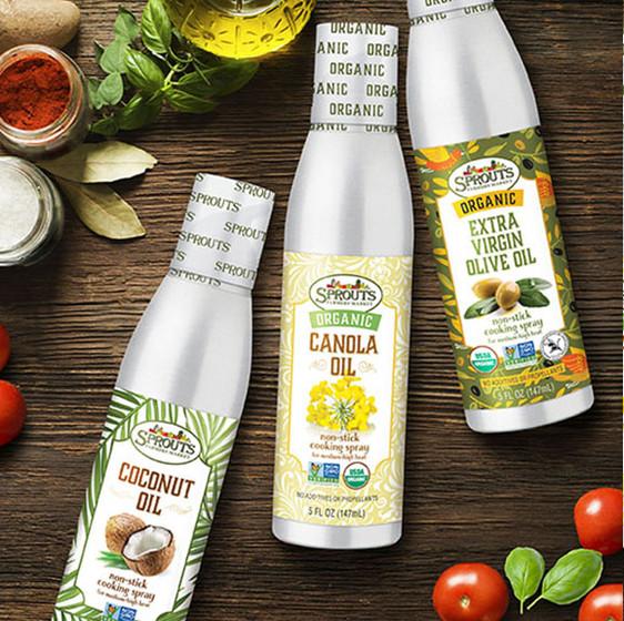 Sprouts Spray Oils