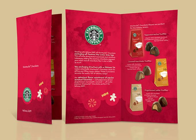 Starbucks Holiday Brochure