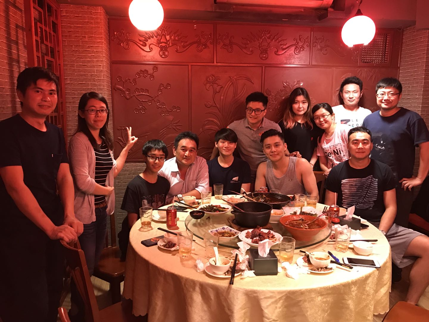 20180724_Yufan % Jun's farewell dinner@火