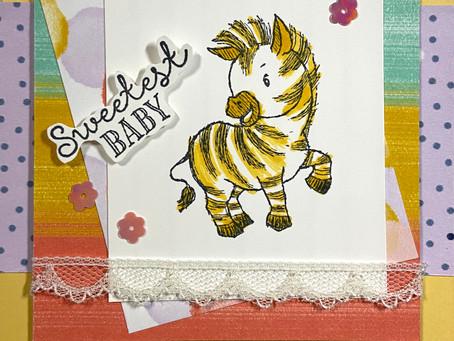 Zany Zebras Baby Shower for Girl