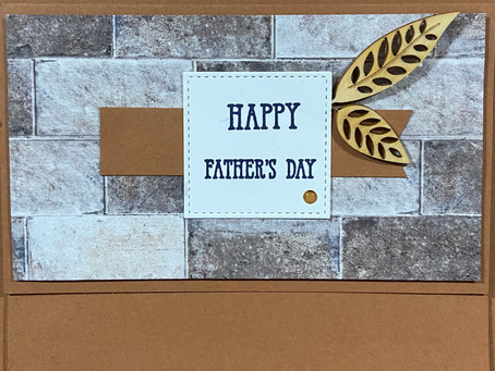 In Good Taste Suite Father's Day Card