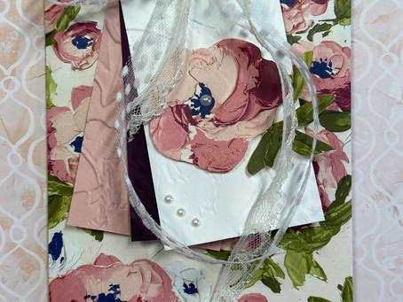 Fine Art Floral DSP Gift Card Bag