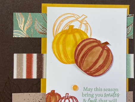 Gather Together Fall Card  #onstageathome