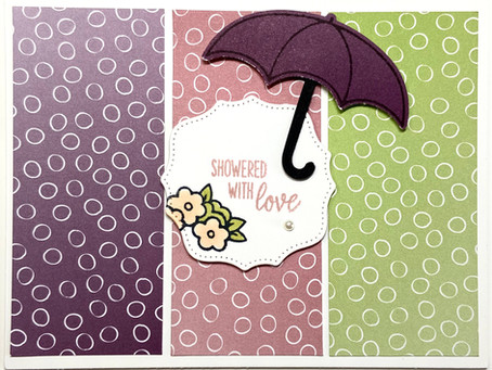 Under my Umbrella featuring Oh So Ombre DSP Sale-A-Bration 21