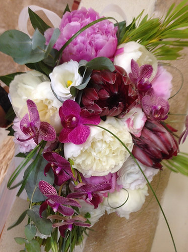 Peonies & Orchids