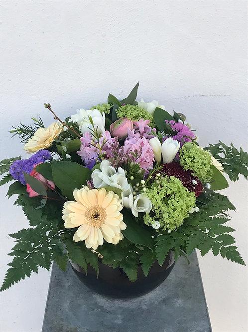 Nona Bouquet & Ceramic Pot