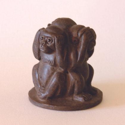 Clay Wise Monkeys