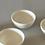 Thumbnail: White Tea Cups, Set of 4