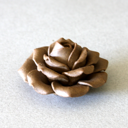 Clay Rose Incense Stand (S)