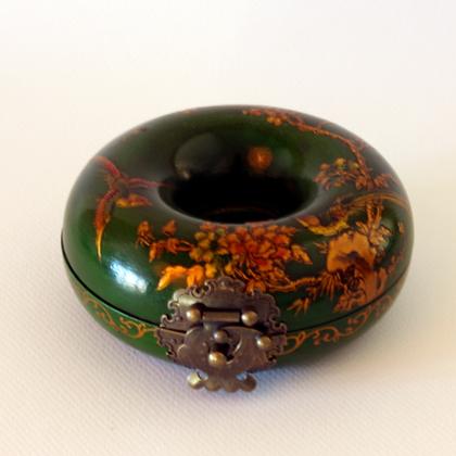 Bracelet Case, Green Bird