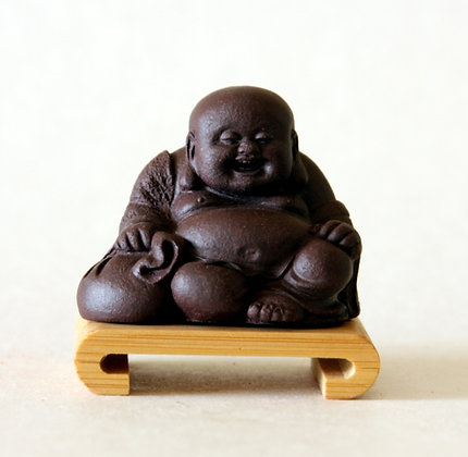 Small Clay Hotei 2-Sitting