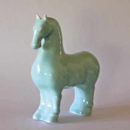 Celadon Standing Horse