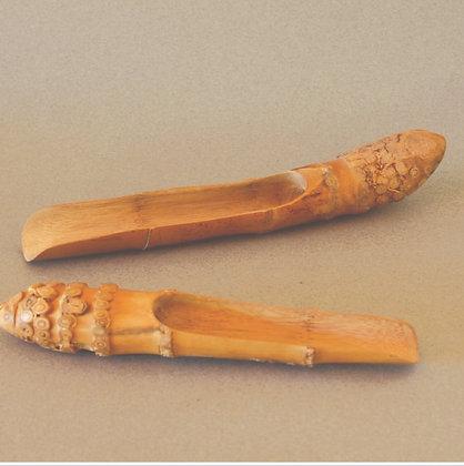 Bamboo Root Tea Scoop