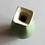 Thumbnail: Forest Green Vase #3, Square Neck