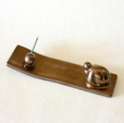 Monk Incense Slab
