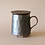 Thumbnail: Patterned Tea Mug Infuser, Gray