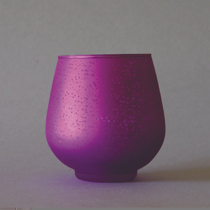 Purple Tea Light Votief