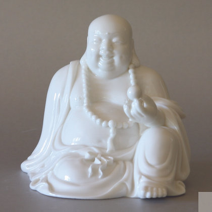 Sitting Hotei with Crystal (S)