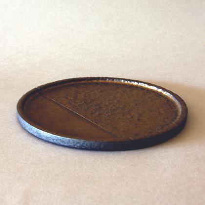 Ceramic Circle Tea Plate