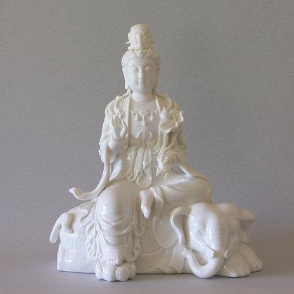 Samantabhadra on Sitting Elephant