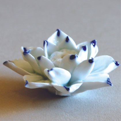 Lotus Incense Stand (S), Blue