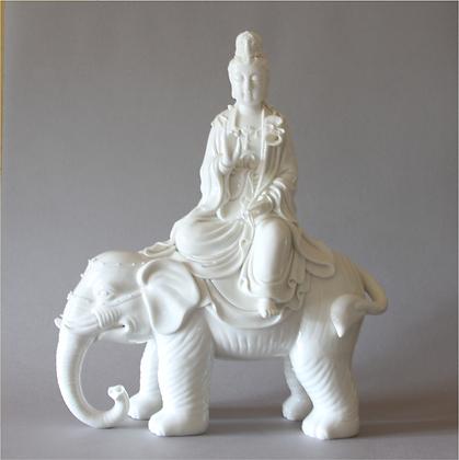Samantabhadra on Elephant