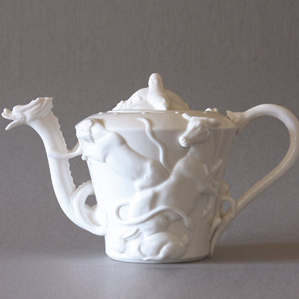 12 Zodiac Animals Tea Pot