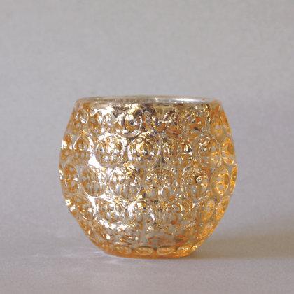 Tea Light Holder, Gold