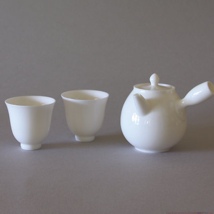 Petite Side-Handle Tea Pot & 2 Cups #3