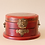 Thumbnail: Oval Jewelry Box, Red Bird