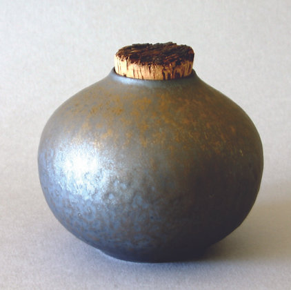 Canister w/ Cork, Round