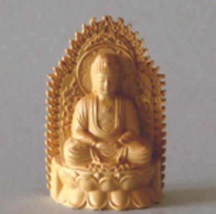 Buddha w/ Wreath of Fire
