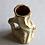 Thumbnail: Wood Trunk Vase, Olive Green