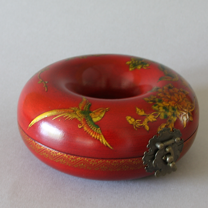 Necklace Case, Red Bird