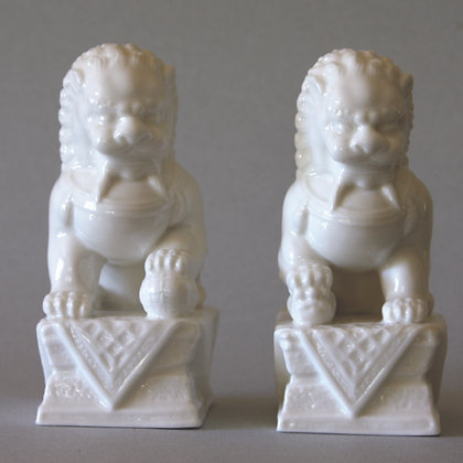 A Pair of Fu Lions (S)
