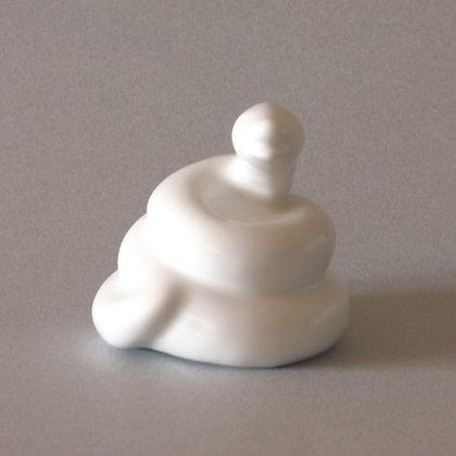 White Snake Zodiac Figure