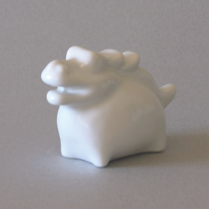 White Dragon Zodiac Figure