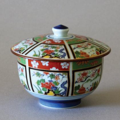 Arita Sansui Tea Cup w/ Lid