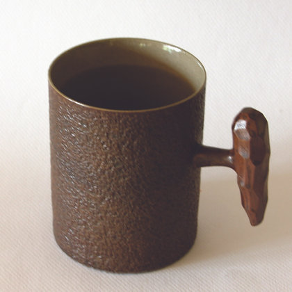Fist Mug, Dark Grey (L)