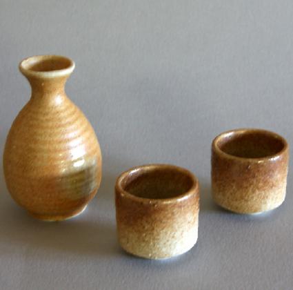 Iga Sake Set (1 Bottle & 2 Cups)