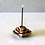 Thumbnail: Clay Rose Incense Stand (S)