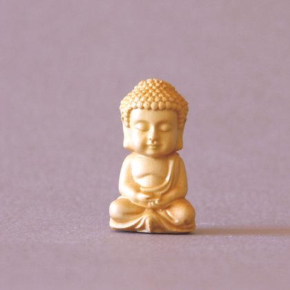 Boxwood Buddha